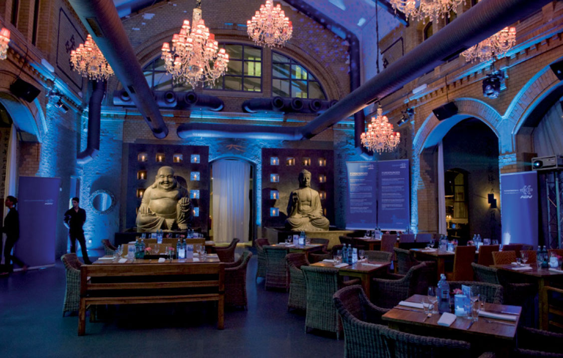 Restaurant & Eventlocation Nordbahnhof Two Buddhas
